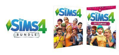 The Sims 4 Plus Get Famous Bundle