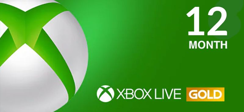 Xbox 12 Months Live GOLD Membership