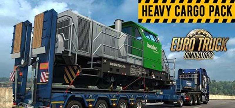 Euro Truck Simulator 2: Heavy Cargo Pack