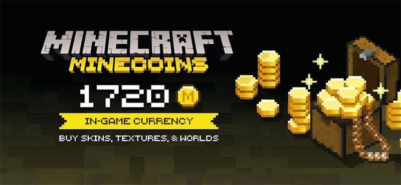 Minecraft Minecoin Pack 1720 Coins