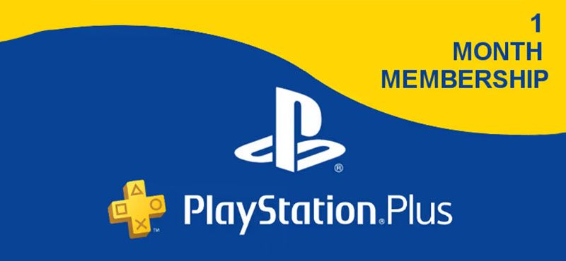 PlayStation Plus 1 Month Membership - USA