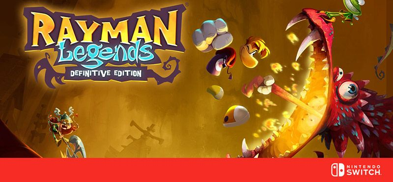 Rayman Legends - Definitive Edition