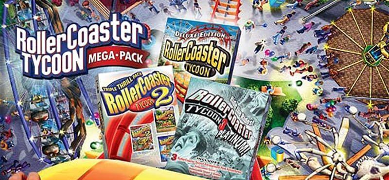 RollerCoaster Tycoon 9 Mega Pack