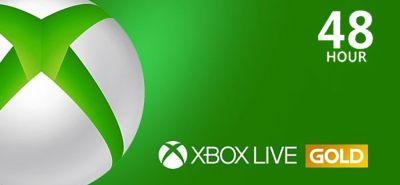 Xbox Live Gold 48 Hours USA